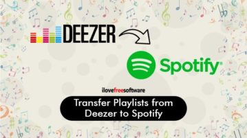 transfer playlists from deezer to spotify
