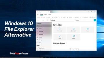 windows 10 file explorer alternative