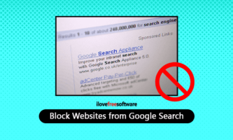 7 Methods to Block Websites from Google Search