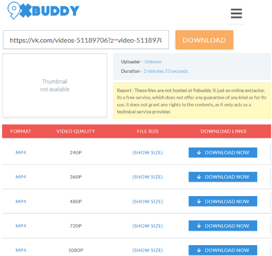 DOWNLOAD YOUTUBE VIDEOS 9XBUDDY - The Best Myspace Video Downloader