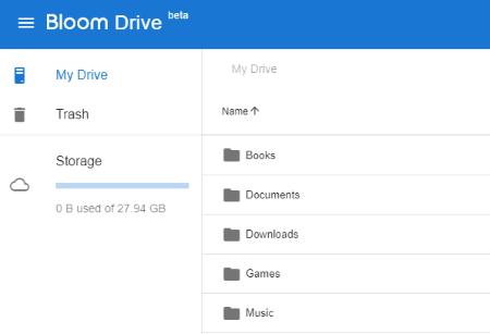 Access free 30 GB storage