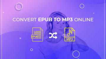 Convert EPUB to MP3 Online