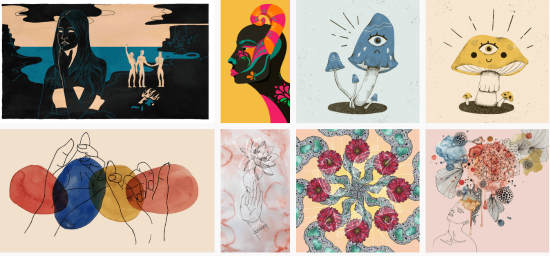 Download free art and illustrations
