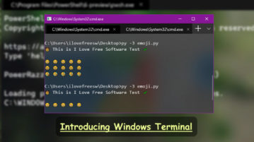 How to use New Terminal App from Microsoft with Tabs