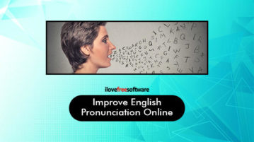 Improve English Pronunciation Online