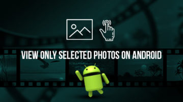 Limit Your Friends to View Only Selected Photos on Android
