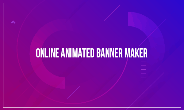 online animated banner maker websites free