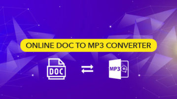 Online DOC to MP3 Converter