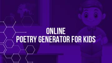 Online Poetry Generator for Kids