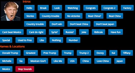 Play Donald Trump Soundboard Online with These Free Websites
