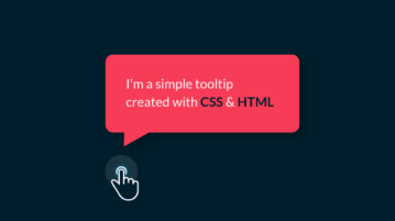 Tooltip generator CSS