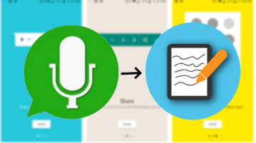 Transcribe Whatsapp Voice Notes