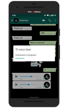 Transcribe Whatsapp Voice Notes with this Free Android App