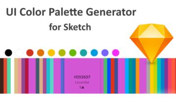Free UI Color Palette Generator for Sketch