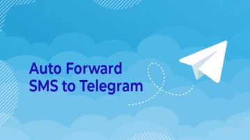 auto forward sms to telegram