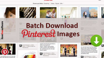 batch download pinterest images