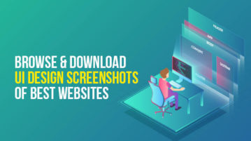 browse and download ui design screenshots of best websites