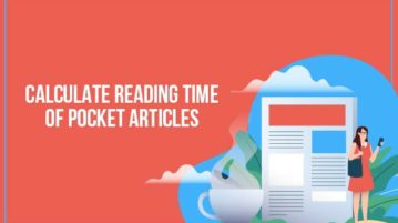 calculate reading time of pocket articles