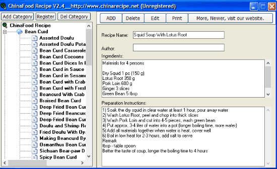 create recipe card with this free software