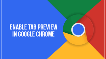 enable tab preview in google chrome
