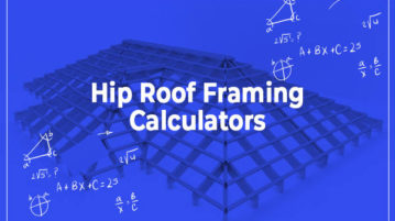 online hip roof framing calculators