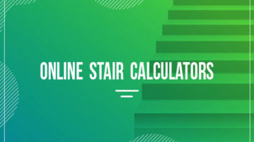 online stair calculators