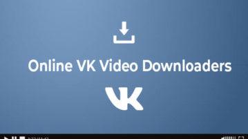 online vk video downloaders