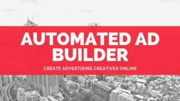 Online Automated AD Builder to Create Advertising Creatives with Ease