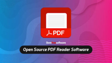 open source pdf reader software