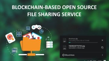 Blockchain-based Open Source File Sharing Service Free