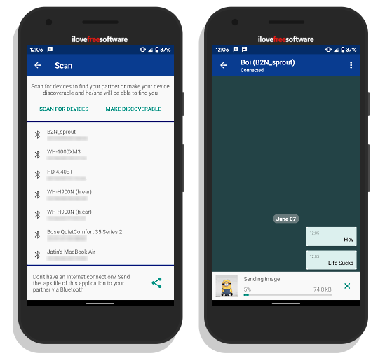 Free Offline Messaging Apps for Android to Chat Without Internet