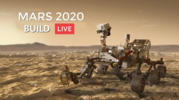Watch NASA Build the Mars 2020 Rover Live