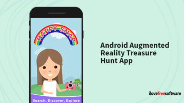 Android augmented reality treasure hunt app