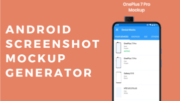 5 Android Screenshot Mockup Generator Apps Free