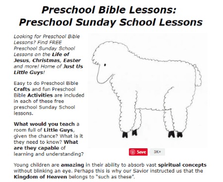 picture regarding Printable Sunday School Lessons named Cost-free Printable Bible Classes for Babies