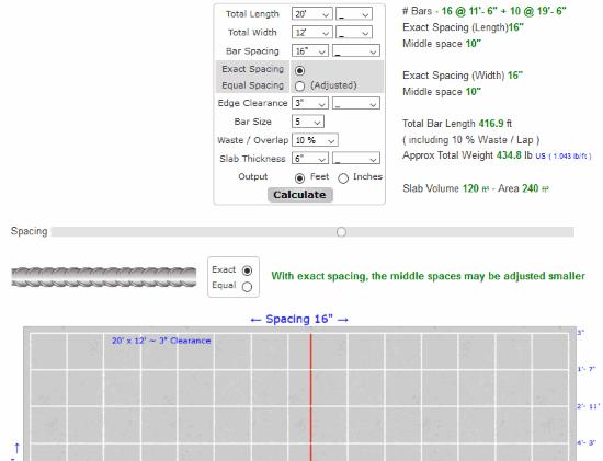 4 Online Concrete Rebar Calculator Free