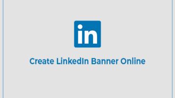 Create LinkedIn Banner Online