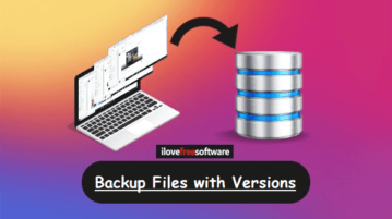 File Backup software with versions