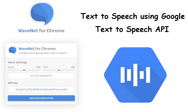 Google Text to Speech Chrome Extension to TTS Selected Text