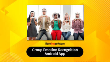 Group Emotion Recognition Android app