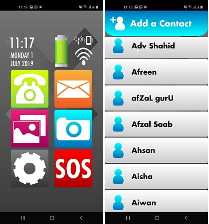 Help launcher Android Launcher for elderly