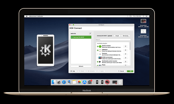 How to Connect Android Phone to macOS via KDE Connect