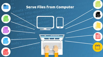 How to Host a File Directly from PC