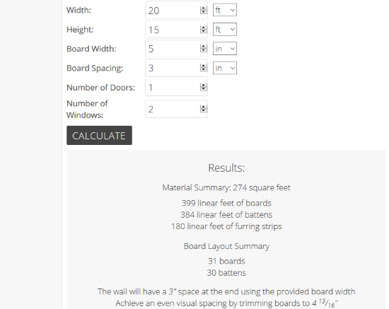 Inch Calculator