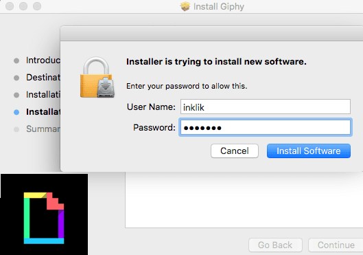 Install Giphy for Apple Mail