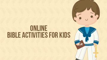 Online Bible Activities for Kids
