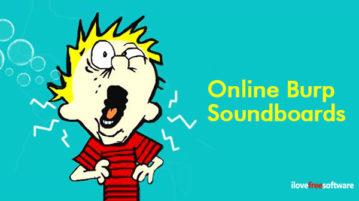 Online Burp Soundboards