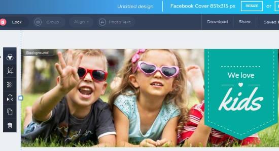 Online Facebook Event Cover Maker