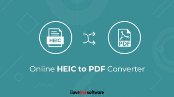 Online HEIC to PDF converter