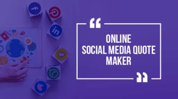 Online Social Media Quote Maker